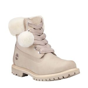 Timberland 6-Inch Shearling Boot Light Taupe